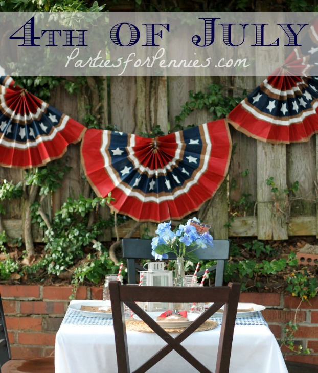 4th Of July Decorating Idea Using Paper Bags Creative Home