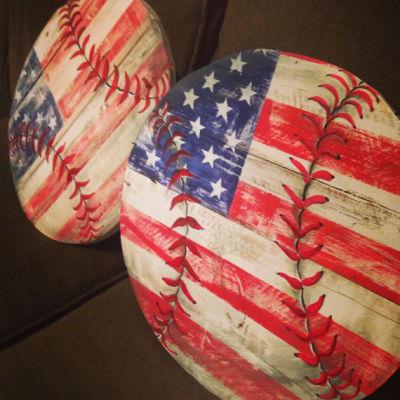 baseball, crafts, americana