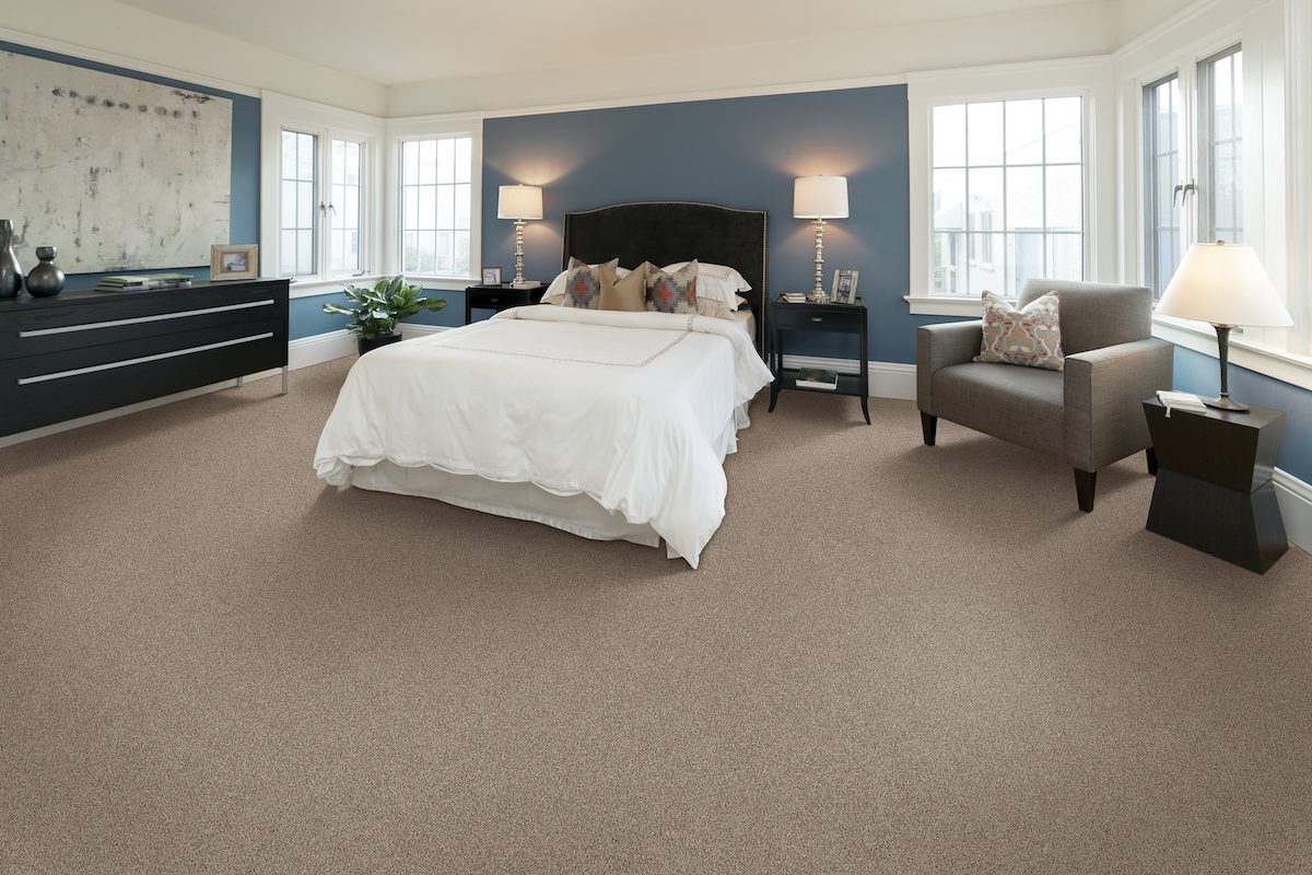 SmartStrand carpet in a bedroom