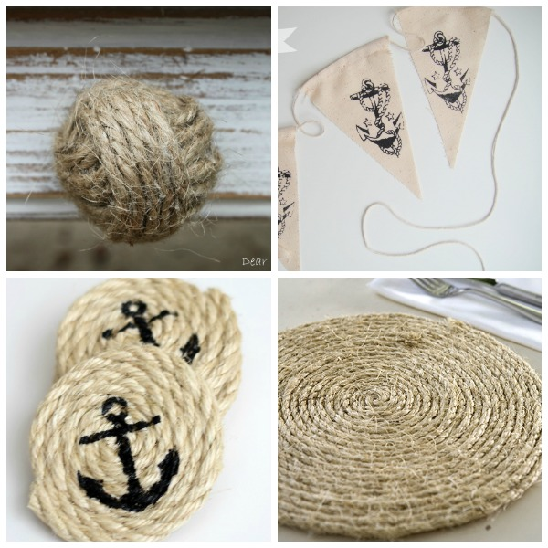 Hi Again Creative Home Readers! Iu0027m Taryn From Design, Dining + Diapers ,  And Iu0027m Here Today To Share Some DIY Nautical Decor Ideas.